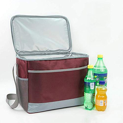 ZXL picknickmand, koeltas, draagbaar, inklapbaar, groen, 15 l