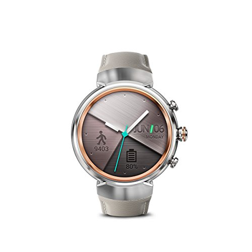 ASUS ZenWatch 3 AMOLED Android Wear Smartwatch (WI503Q-SL-BG)