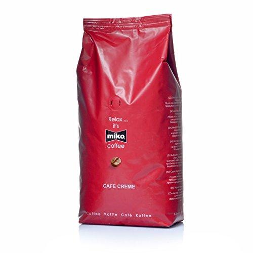 Miko Cafe Creme Bohnen 6 x 1 Kg Kaffeebohnen