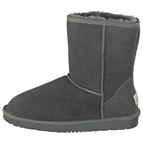 BOnova Kopenhagen grau 40 Lammfell Boots Damen 40 Boots Lammfell Damen 40 Boots Lammfell grau 40 Stiefel Lammfell 40 Winterstiefel Lammfell 40