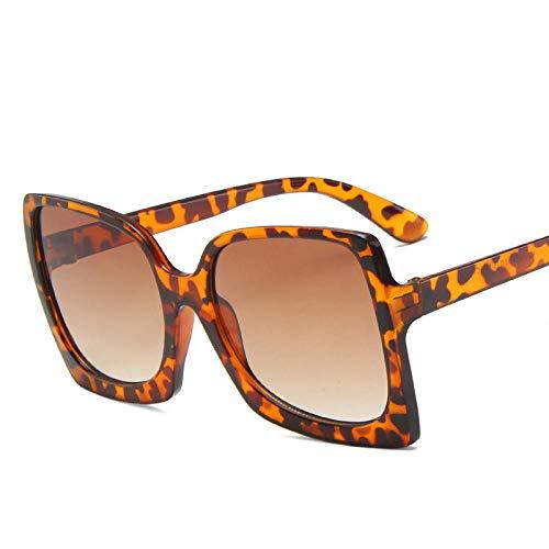 Gafas De Sol Hombre Mujeres Ciclismo Gafas De Sol De Mujer Clásicas De Moda para Mujer Retro De Plástico Retro Vintage para Mujer Gafas De Sol De Leopardo