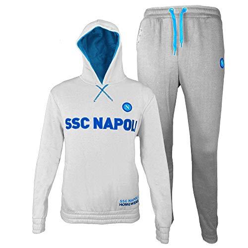 SSC Napoli - Pijama Dos Piezas - para niño Bianco 5-6 Años