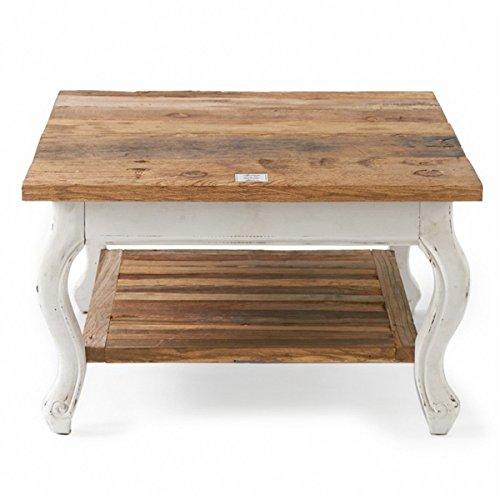 Riviera Maison - Couchtisch, Beistelltisch - Driftwood - Coffee Table - 70 x 70 cm - aus recyceltem Holz