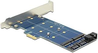 DeLock PCIe 2 x M.2 NGFF SATA + USB