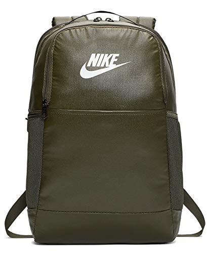Nike Nk Brsla M Bkpk - 9.0 Mtrl - Cargo Khaki/Cargo Khaki/White, Größe:-