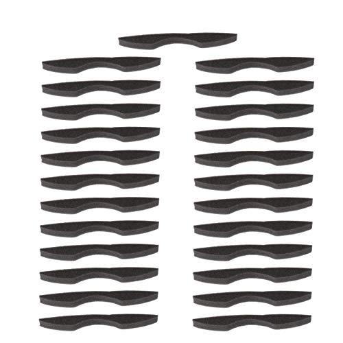 MILISTEN 25 Stücke Nasenbrücke Antibeschlag Brille Nasenbügel Mundschutz Bügel Brillenträger Schwamm Innenhalterung Schutzhülle für Gesichtsschutz Sonnenbrille Gesichtsbedeckung