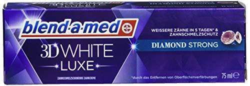 Blend-a-med Zahncreme 3D White Luxe Diamond Strong weißere Zähne in nur 5 Tagen* Zahnpasta 75 ml
