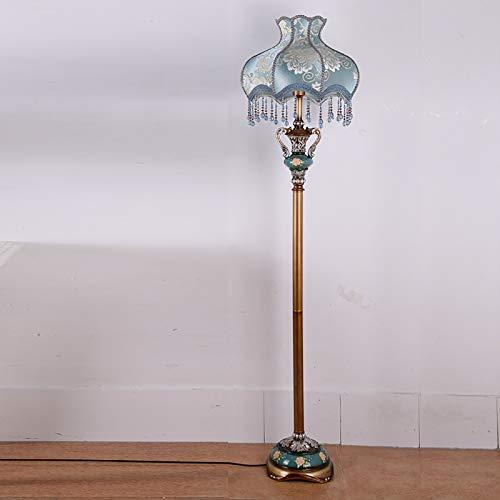 sandy Lámpara Pie LED, Hecha a Mano Tela Pantalla Luz de Noche Regulable para Decoración del Hogar Oficina Sala Estar,Remote Control
