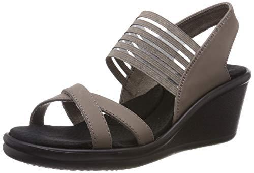 Skechers vrouwen Rumblers-Solar Burst Open teen sandalen
