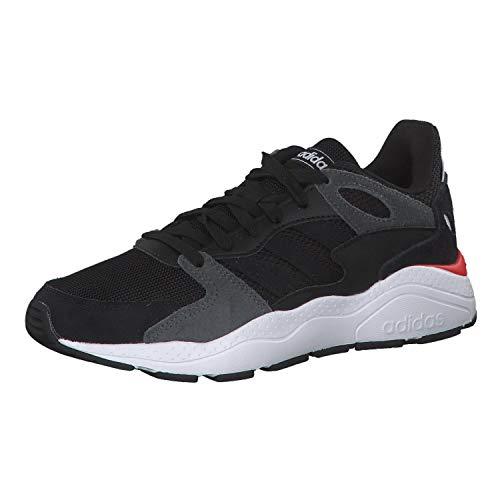 adidas Crazychaos J, Zapatillas de Trail Running Unisex Adulto, Multicolor (Negbás/Negbás/Grisei 000), 39 1/3 EU