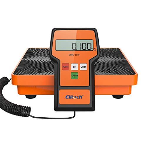 Báscula Electrónica Refrigerante para HVAC, Escala de Recuperación de Peso de Carga Electrónica de Refrigerante Inalámbrico