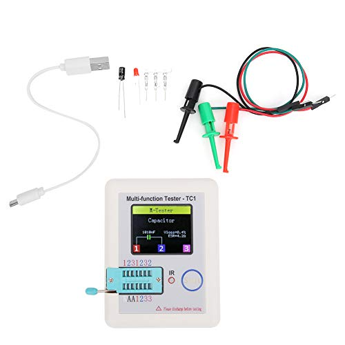 적외선 파형 검출을 위한 제너 다이오드용 TFT 트랜지스터 테스터 간단한 동작 트랜지스터 테스터 LCRTC1