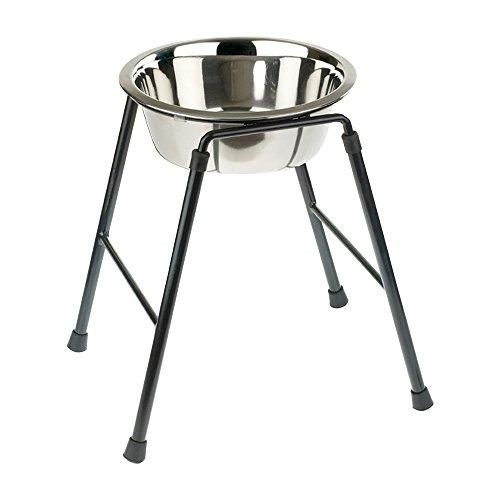 Caldex Singolo Alimentatore Stand con Ciotola, 370 mm / 4000 ml