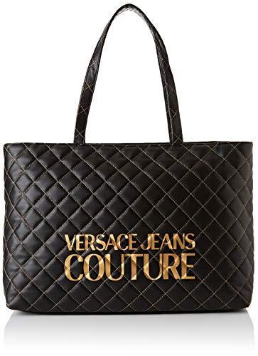 Versace Jeans Bag, Borsa a Mano Donna, Nero (Nero), 14x29x42 cm (W x H x L)