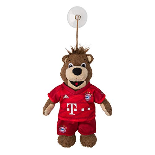 Bayern München Auto Maskottchen Berni mit Saugnapf 23 cm kompatibel FCB - Plus Lesezeichen I Love München