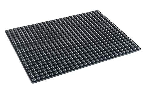 Tapis noir en Silicone