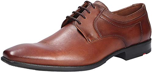 LLOYD Herren Lacour Uniform-Schuh, Braun (COGNAC), 44.5 EU