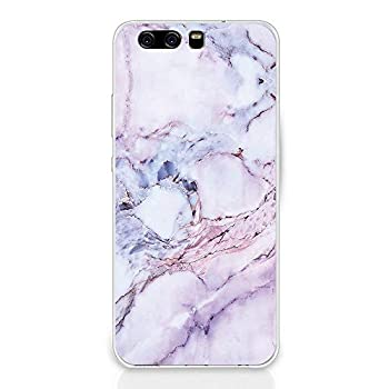 for Huawei P10/P10 Plus Case Clear Marble Design Silicone Soft TPU Cover Ultra Slim Waterproof Protective Bumper Case  Marble 1 Huawei P10 Plus