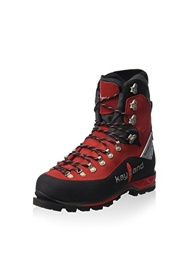 Kayland Herren Super Ice Evo GTX Krk Mountaineering Outdoorschuh, schwarz/rot, 45.5 EU