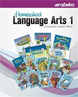 Homeschool Language Arts 1 Curriculum Lesson Plans - Abeka 1st Grade 1 Phonics, Writing, Reading, Spelling and Poetry Lesson Plan Guide