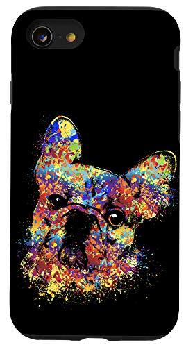 iPhone SE (2020) / 7 / 8 Colorful French Bulldog -Frenchie Dog Case