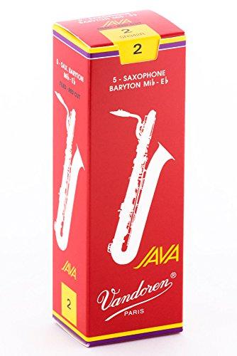 Vandoren Java Red Cut - Blätter für Bariton Saxophon - Stärke 2,0