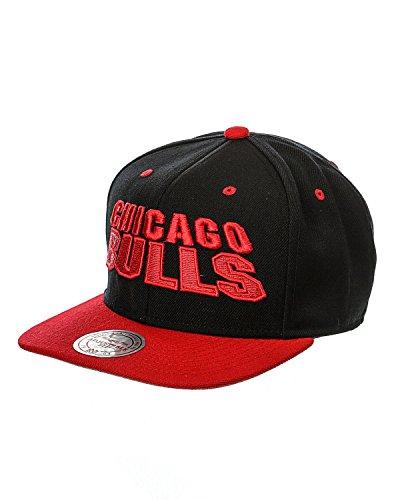 Mitchell & Ness - Casquette 'Chicago Bulls' - MONOLITH - Taille Taille unique - Couleur Noir