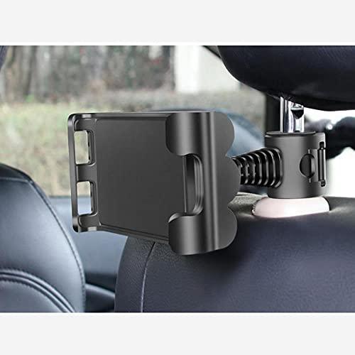 Rotación de 360 grados coche asiento trasero silla teléfono Tablet PC titular coche soporte reposacabezas soporte soporte teléfono móvil titulares accesorios