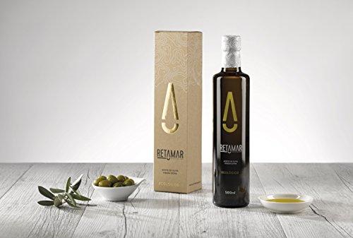 Retamar Aceite con Alma - Aceite de Oliva Virgen Extra Ecológico de Cosecha Temprana - Botella Cristal 500 ml - Producción Limitada.