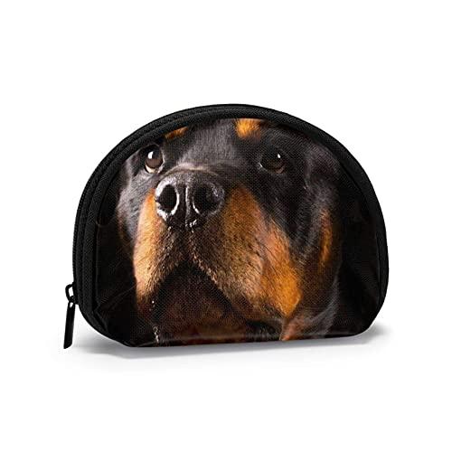 Rottweiler lindo perro encanto tranquilo impreso cambio temático lindo Shell bolsa de...