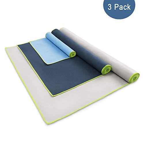 verde, 40/x 80/cm Lumaland Asciugamano da viaggio in microfibra ultra leggero e compatto in diversi colori e misure