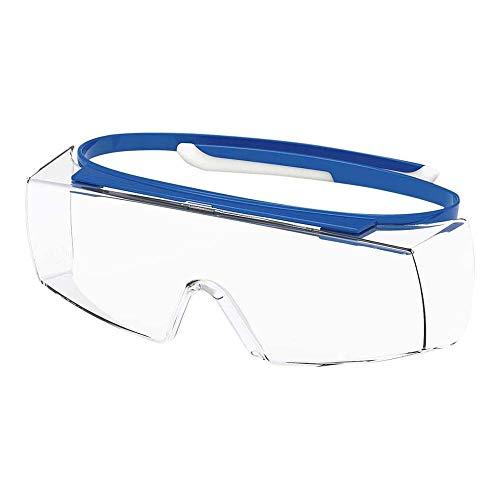 Uvex super OTG Schutzbrille kratzfest, chemikalienbeständig