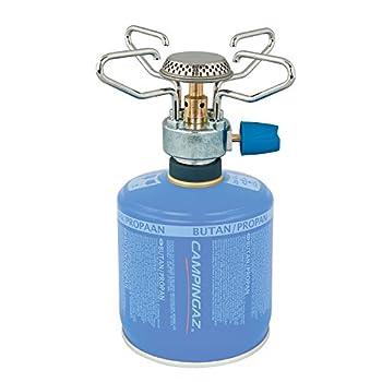 Campingaz Bleuet Micro Plus, réchaud 1 brûleur pour camping et festivals, manipulation simple