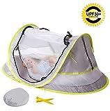 Bébé Tente De Plage Pliante Portable en Plein Air, Moustiquaire et Tente Anti-UV Pour Bébé 0-24 Mois