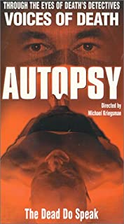 Autopsy:Through The Eyes Of Death's Detectives: Voices Of Death [VHS]