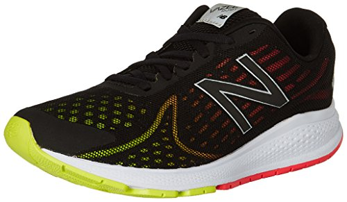 New Balance Men's Vazee Rush v2 Running Shoe, Black/Pink, 8 D US