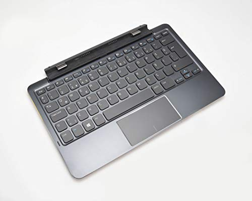 71JH4 Original OEM Tastatur für Dell Venue 11 Pro Tablets 5130 7130 7139 7140 Tastatur mit türkischer QWERTY-Dockingstation, interner Akku-Layout, Modell: K12A