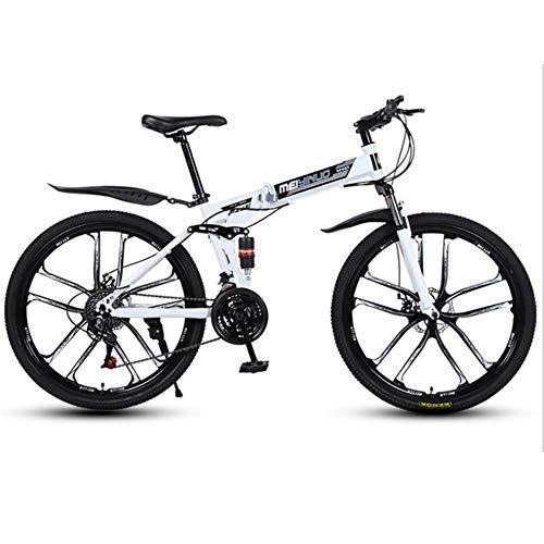 Archer 26 Inch Mountainbike Variabele Snelheid Opvouwbare Schokabsorptie Student Sport Wielset Fiets Kid Bike Jongens & Meisjes