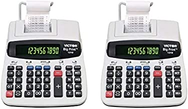 $177 » Victor 1310 Big Print Commercial Printing Calculator - 2 Pack