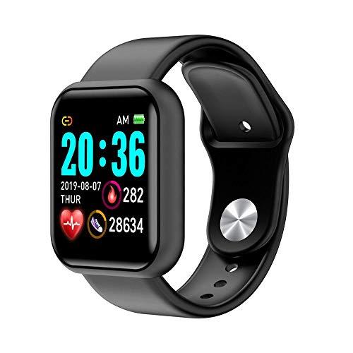 Reloj inteligente con Bluetooth, reloj inteligente para hombres y mujeres, resistente al agua, deportivo, frecuencia cardiaca, tensiómetro, pulsera de fitness