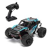 ZUJI Monstre RC Crawler Télécommandée, 1:18 2.4G 36km/h 4WD Voiture RC Camion à Grande Vitesse Cadeau de Noël pour Enfant et Adulte