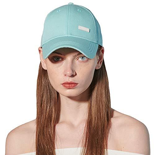 CACUSS Damen Baumwolle-Vati-Hut Baseball-Golf-Kappe Mit Einstellbarem Schnallenverschluss einheitsgröße blau