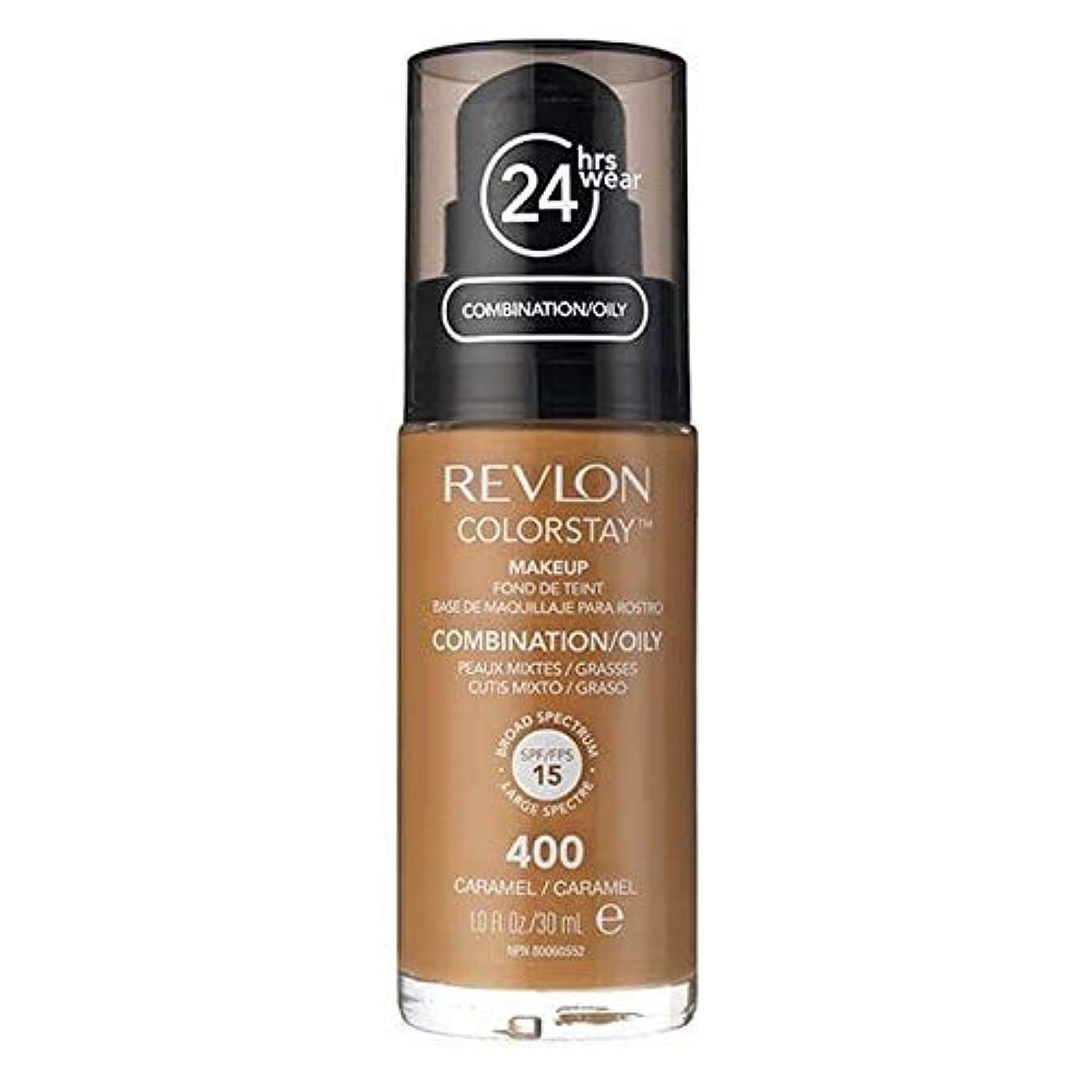 通行人有毒短命[Revlon ] レブロンカラーステイ基盤コンビ/オイリーキャラメル30ミリリットル - Revlon Color Stay Foundation Combi/Oily Caramel 30ml [並行輸入品]