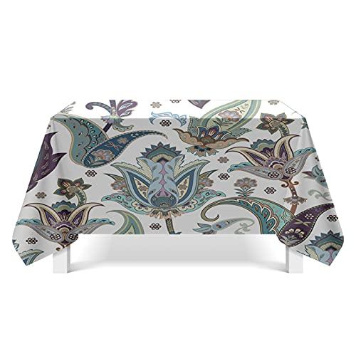 XGguo Mantel de Mesa a Rayas Decoración de Hogar Arte de Textura geométrica