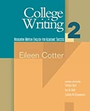 Best college writing 2 eileen cotter Reviews