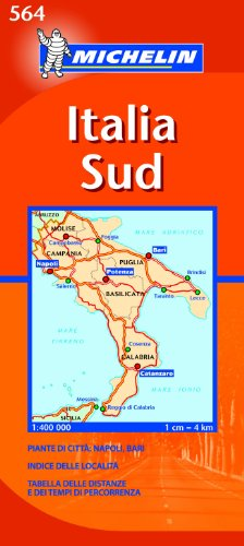 Mapa Regional Italia Sud: No. 564 (Carte regionali)