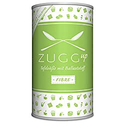 ZUGGup Fibre - INNOVATIV Süßend* mit 85% Ballaststoffe (*Sucralose)