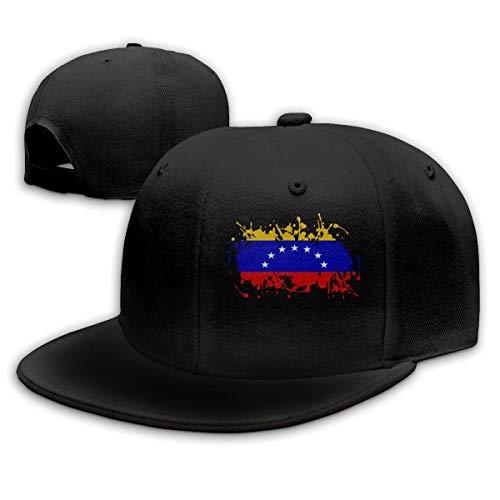 DAIAII Hombre Mujer Gorras de béisbol, National Flag of Venezuela Men & Women Adjustable Plain Baseball Cap Hip Hop Hats