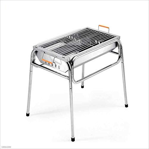Review Of Nhlzj BBQ Supplies/Barbecue Easy Barbecues Set Folding Barbecue Stove Folding Barbecue Lig...