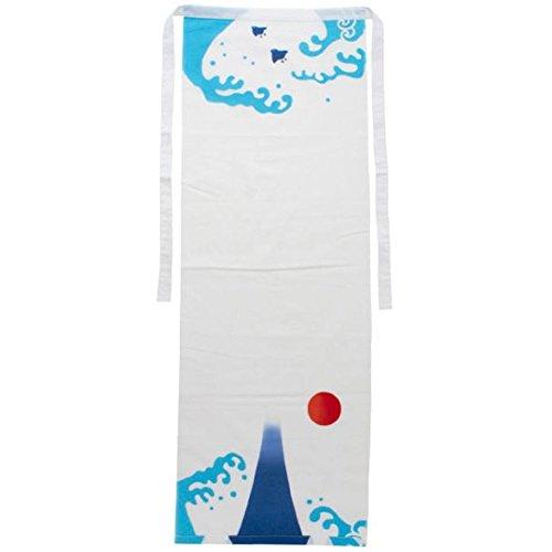 Kaya Fundoshi Japanese Traditional Underwear Mt. Fuji Design White